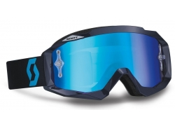 Очки Scott Hustle MX blue/electric blue chrome works 237588-0003278