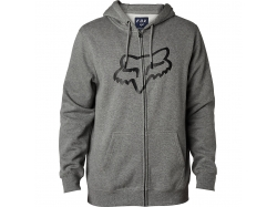 Толстовка Fox Legacy Foxhead Zip Fleece Heather Graphite XL
