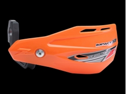 Пластик с креплением на руль ZETA Impact X2 Handguard Orange ZE74-0209