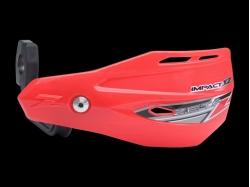 Пластик с креплением на руль ZETA Impact X2 Handguard CR-Red ZE74-0205
