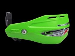 Пластик с креплением на руль ZETA Impact X2 Handguard Green ZE74-0208
