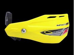Пластик с креплением на руль ZETA Impact X2 Handguard Fl.Yel ZE74-0207
