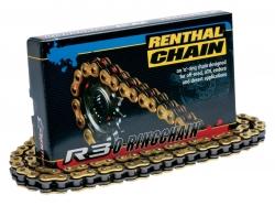 Цепь с сальниками Renthal R3-2 520-120L C294