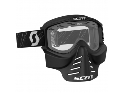 Маска Scott 83X Safari Facemask, black / clear 218166-0001043