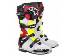 Мотоботы Alpinestars Tech 8 RS White/Yellow 12