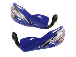 Пластик с креплением на руль ZETA Impact X3 Handguard Blue ZE74-4104
