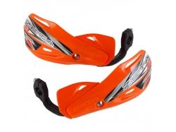 Пластик с креплением на руль ZETA Impact X3 Handguard Orange ZE74-4109