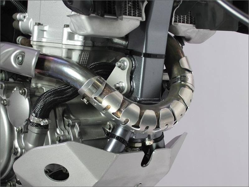 Защита глушителя 4Т универсальная D31-01-110