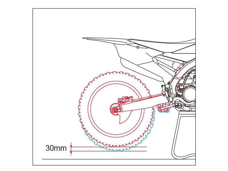 Занижение амортизатора LowDown 50φ -30mm ZE56-32250